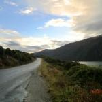 von Queenstown zum Doubtful Sound: hier entlang - tolle Straße!