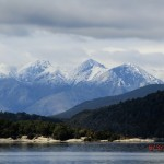 Doubtful Sound Overnight: Berge hinter Lake Manapouri