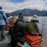 Doubtful Sound Overnight: Wolfi auf dem Deck, Lake Manapouri
