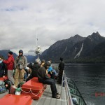 Doubtful Sound Overnight: auf dem Deck, Lake Manapouri