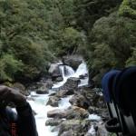 Doubtful Sound Overnight: und noch ein Bergfluss