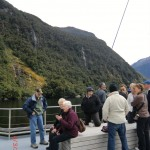 Doubtful Sound Overnight: auf dem Deck