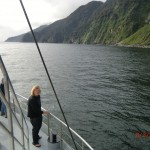 Doubtful Sound Overnight: am Nachmittag, nach unserem Sound-Bad