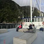 Doubtful Sound Overnight: Entspannen auf dem Oberdeck
