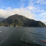Doubtful Sound Overnight: Insel an der Mündung ins Meer