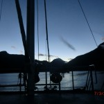 Doubtful Sound Overnight: kalter, klarer Morgen im Sound