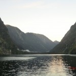 Doubtful Sound Overnight: Morgennebel