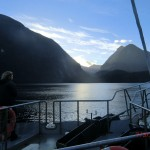 Doubtful Sound Overnight: in Richtung des Hall Arm