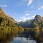 Doubtful Sound Overnight: grün und blau