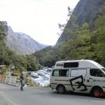 auf der Fahrt von Te Anau zum Milford Sound VII