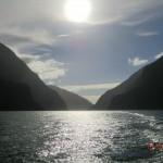 Rückfahrt über den Milford Sound