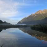 Mirror Lakes am frühen Morgen