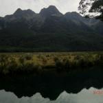 Mirror Lakes am Nachmittag