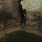 Clifden Limestone Cave: da musste man sich an der Seite entlang hangeln!