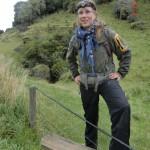 Clifden Limestone Cave: geschafft - Tini hat's überlebt, war anstrengend!