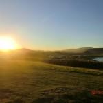 Abendlicht über der Curio-Bay