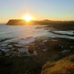 Sonnenuntergang über der Curio-Bay II