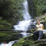 Tini vor McLean Falls