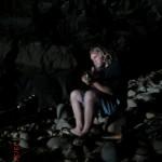 und auch Wolfi verschafft dem Höhleninneren eine kleine Begleitmusik