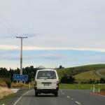 aus dem Süden an der Ostküste nach Dunedin