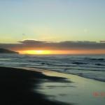 Sonnenaufgang am St. Clair Beach
