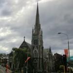 Knox Church in Dunedin - der Christchurcher Cathedral schon sehr ähnlich