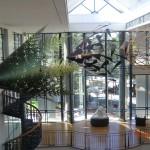 Art Gallery Dunedin (diese Kegel wurden vom selben Künstler erschaffen wie der Riesenkegel auf Christchurchs Square)