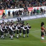 Schottenparade statt Haka