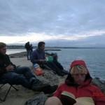 weiter Warten auf die Mini-Pingus: Mietnomade, Wolfi, Marian