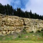 zurück ins Inland - unterwegs: Sandstein