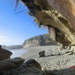 einsame Strandbucht an der Westküste