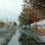 Einfahrt in Christchurch 6 Wo. nach dem Februar-Beben