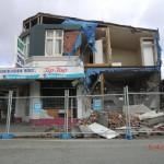Christchurch nach dem Februar-Beben: Cornershop