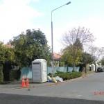 Christchurch nach dem Februar-Beben: Kontainer und Dixies überall