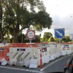 Christchurch nach dem Februar-Beben: Straßensperrungen