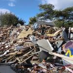Christchurch nach dem Februar-Beben: Schutthaufen