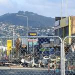Christchurch nach dem Februar-Beben: diese Straße zum Pak'nSave haben wir so oft befahren