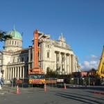 Christchurch nach dem Februar-Beben: zerstörte Kirche