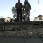 Christchurch nach dem Februar-Beben: Sean und Tini an der Risskante