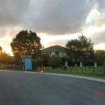 Christchurch nach dem Februar-Beben: Friedhof nahe des Avon River