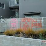 Christchurch nach dem Februar-Beben: Kennzeichnungen von Häuserbegehungen