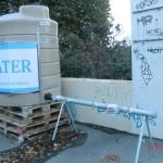 Christchurch nach dem Februar-Beben: Wasserversorgung nach 6 Wochen (muss noch abgekocht werden!)