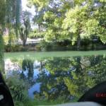 Erwachen am Avon River, aus dem Seitenfenster