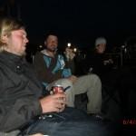 Christchurch nach dem Februar-Beben: wir mit Nils und Dani bei Gapfill Konzert + Film