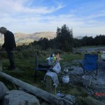 Kochen in den Bergen der Südinsel