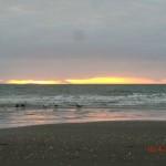 Sonnenuntergang an der Kapiti Coast nahe Paekakariki II