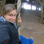 hab 'n Mega-Schwingseil gefunden (hinterm Waikanea Beach)