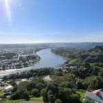 Wanganui am Whanganui River - vom Lookout