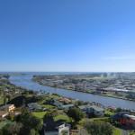 Wanganui am Whanganui River - vom Lookout II
