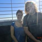 auf dem Aussichtsturm über Wanganui